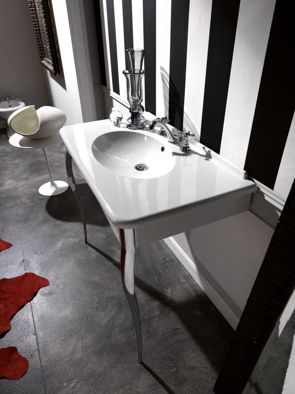 kerasan-retr-consolle-100x55-con-rubinetteria-lavabo-3-fori