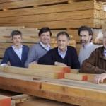 La famiglia Navello (da sin: Gianluca, Roberto, Renato, Paolo e Carlo)