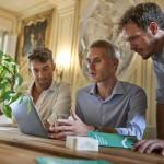 Enerbrain   Giuseppe Giordano (al centro) CEO e cofondatore e Filippo Ferraris (a destra) Chief Product Officer e cofondatore