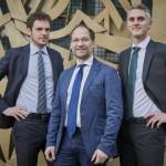 Enerbrain   I fondatori (da sin) Filippo Ferraris, Marco Martellacci e Giuseppe Giordano (CEO)