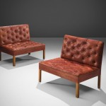 BRAFA2020-Pair of 'Addition' Settees-Kaare Klint-Morentz