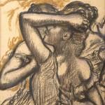 BRAFA2020  Edgar Degas  Trois danseuses en buste Bailly