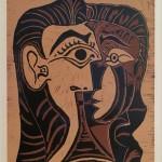 BRAFA2020   Picasso Portrait de Jacqueline de Face Cazeau