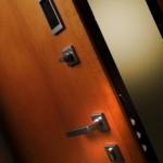 Dierre - porta blindata Hibry - lato interno (aperta)