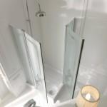 Kerasan Retrò - Cabina doccia 100x100cm