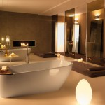 Kerasan - Vasca e lavabo freestanding Aquatech design M. Cicconi (Ph.R.Costantini)