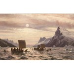 BRAFA2020-Berko-Jens Erik Carl Rasmussen-Amidst the fjords of Greenland