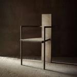 BRAFA 2019   Axel Vervoordt   concrete chair, Jonas BOHLIN