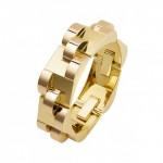 BRAFA2020 Cartier Art deco bracelet in gold 1935 Bamps