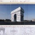 BRAFA2020-Christo and Jeanne Claude-L' Arc de Triomphe, Wrapped (Project for Paris) Place de l'Etoile Charles de Gaulle-Pieters