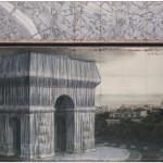BRAFA2020 Christo L'Arc De Triomphe, Wrapped (Project for Paris) Place de L'Etoile Charles De Gaulle 2019 Guy Pieters Gallery