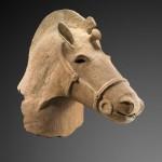 BRAFA2020 Haniwa horse head Japan Kofun period Deydier