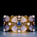 BRAFA2020 Lalique Art Nouveau pansy bracelet 1901 1902 Epoque Fine Jewels