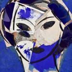 BRAFA2020-Manolo Valdés-Matisse como Pretexto en Azules-Opera