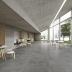 Ceramiche Piemme   Glitch designed by Benoy Floor Graphite 120X120cm Wall Flint 60X120cm Fault Flint 60X120cm