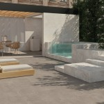 Ceramiche Piemme   Glitch designed by Benoy Floor Salt & Gravel Antislip 60X60cm  Salt 60X120cm Freestanding Washbasin Waterfall Salt