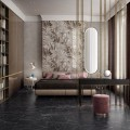 Ceramiche Piemme   Majestic   Floor Royal Nero 60X60cm Wall Majestic Jungle Warm 60X120cm