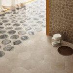 Ceramiche Piemme   Shades   Floor Dawn esagono, Dawn Blot esagono Wall 3D Mesh Dawn 30X60cm Ph F Cedrone