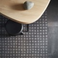 CeramichePiemme Collezione Bits&Pieces Quad Floor 60×60 cm, Wall 30×60 cm, Pitch Black  design G Guillaumier Ph Cedrone