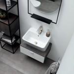 Colavene Acquaceramica Wynn 50cm bianco matt mobile sospeso
