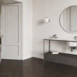 Colavene Collezione  20 20 Mobile bagno Pilotì pino nero con lavabo in ceramica