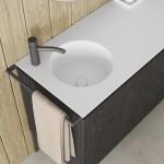 Colavene Collezione  20 20 Mobile bagno Regolo con lavabo in ceramica