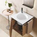 Colavene Collezione  20 20 Mobile lavabo Cubo rovere naturale dettaglio