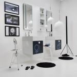Colavene   Lavabo Vola 60cm texture You&Me   ph R Costantini