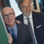 Da sin: Alessandro De Robertis_Direttore Generale e Vincenzo De Robertis_Presidente Dierre_ph.A.Lercara