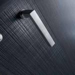 Dierre - dettaglio della porta interna FEEL 1 in rovere grey