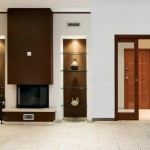 Dierre   New Space 2 ante con porte interne finestrate Ricci 3 in ciliegio chiaro