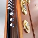 DIERRE - particolare della porta blindata HI-FI con doppia protezione_bassa