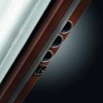 Dierre   Porta blindata Synergy Out   telaio in PVC con anima in acciaio