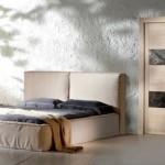 Dierre   Porta interna in legno massiccio Stone con inserti in pietra Melange