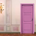 Dierre Porta per interni Bellini L laccata