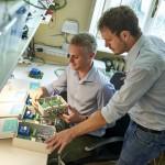 Enerbrain   Giuseppe Giordano e Filippo Ferraris controllano gli attuatori per l'ottimizzazione degli impianti