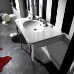 Kerasan Retrò   mobile bagno 100 cm bianco matt