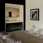 Kerasan Waldorf   lavabo doppio 150cm e sanitari
