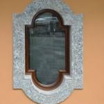 Navello   Villa sul Lago di Como (finestra sagomata della cucina linea Novecento)