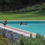 Navello   Villa sul Lago di Como (piscina)