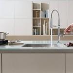 Nobili Rubinetterie Miscelatore cucina MOVE design Marco Venzano