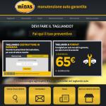 Midas - Homepage Sito