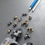 Viega Smartpress  Sistema tubi multistrato e raccordi di acciaio inossidabile e bronzo