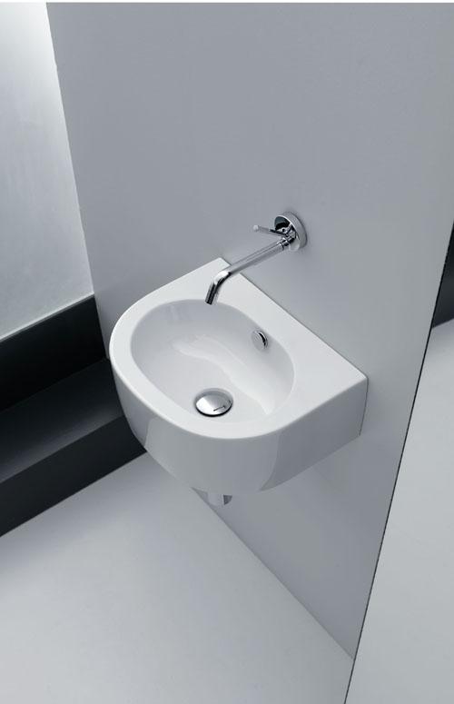 10 piccoli lavabi threesixty torino for Lavandini sospesi